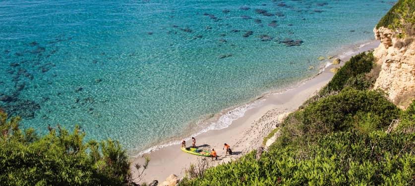 La diferentes costas de Islas Baleares